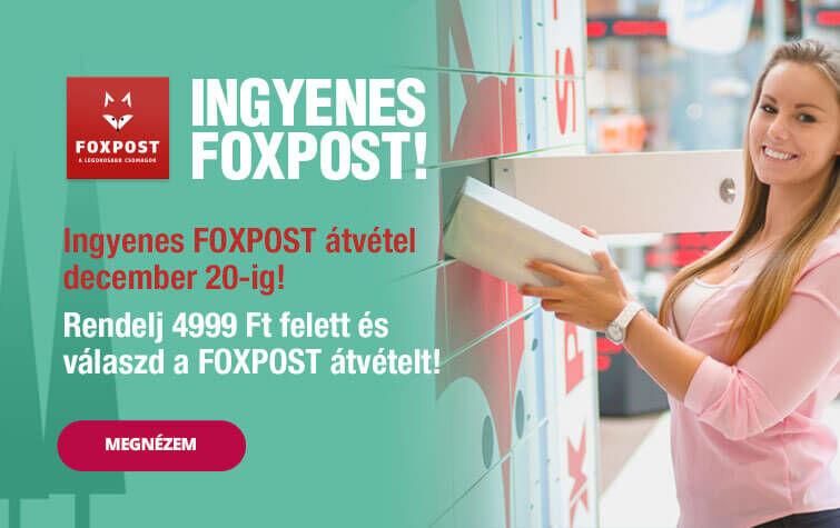Ingyenes FOXPOST!
