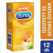 Durex Taste Me - gyümölcsös óvszer (12db)