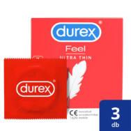 Durex Feel Ultra Thin - ultra élethű óvszer (3db)