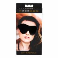 Sportseets - puha, gumis szemmaszk (fekete)