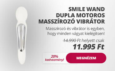 Smile Wand dupla motoros masszírozó vibrátor