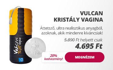 Szexshop - Vulcan kristály vagina
