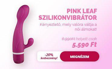Szexshop - pink leaf