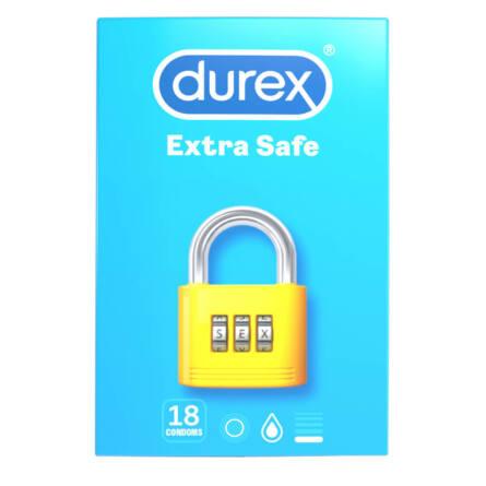 Durex Extra Safe - biztonságos óvszer (18db)