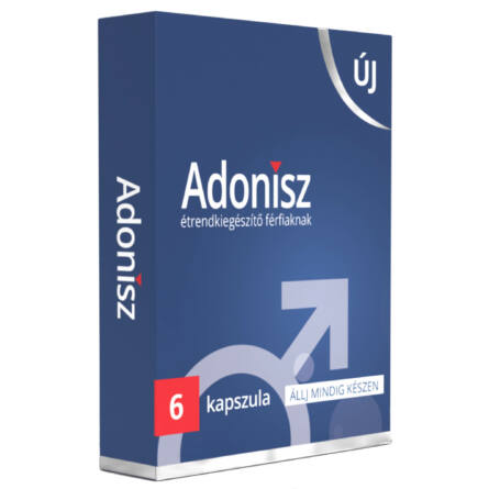 Adonisz étrendkiegészítő kapszula férfiaknak (6db)
